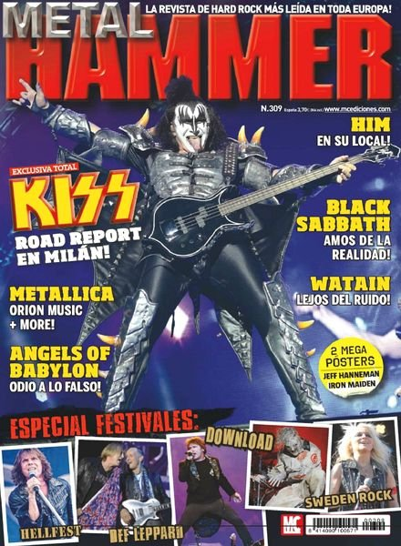 Divers magazines sur Monster  - Page 2 MagMetalHammer2013-08Spain